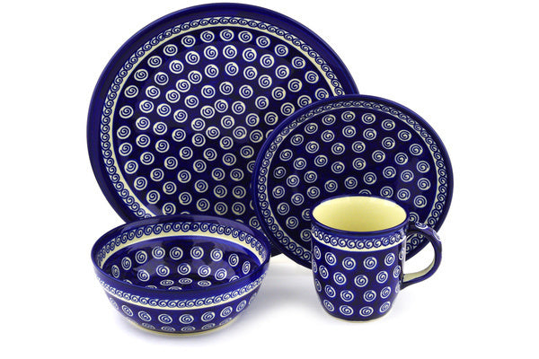 Place Setting - Swirl | Polish Pottery House