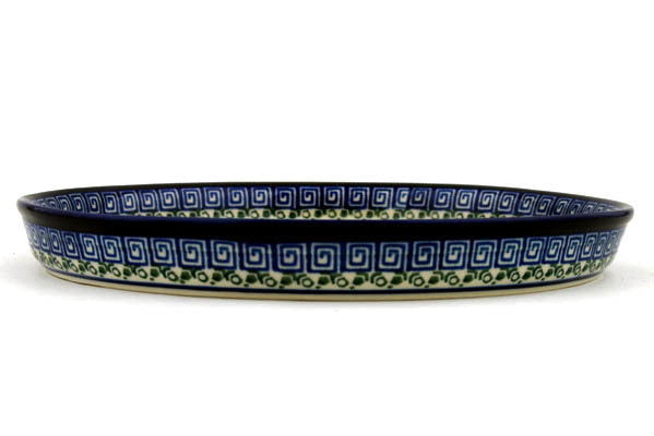 "10"" Cookie Platter - Blue Autumn 