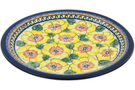 "11"" Dinner Plate - Sunny Blooms 