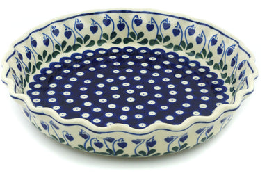 "10"" Fluted Pie Plate - 377O 