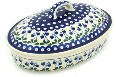 7 cup Covered Baker - 377O | Polish Pottery House