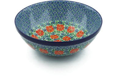 21 cup Serving Bowl - U1961 | Polish Pottery House