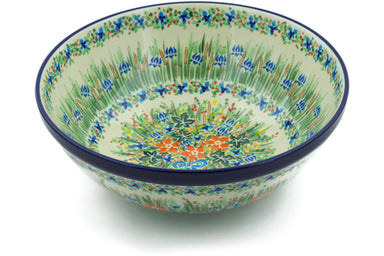 21 cup Serving Bowl - U2839 | Polish Pottery House