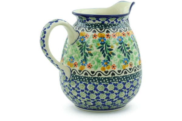 4 cup Pitcher - U1443 | Polish Pottery House