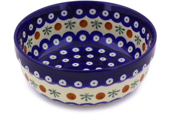21 oz Cereal Bowl - Blue Old Poland | Polish Pottery House