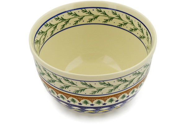 10 cup Mixing Bowl - Evergreen | Polish Pottery House