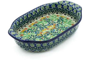 "8"" Oval Baker with Handles - U1443 