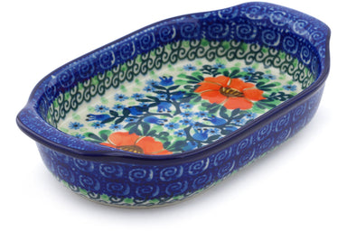 "8"" Oval Baker with Handles - U2055 