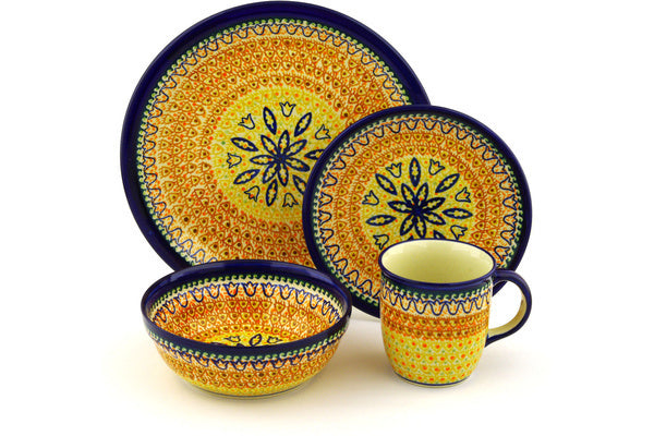 Place Setting - Fall Moon | Polish Pottery House