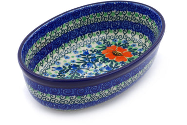 "8"" Oval Baker - U2055 