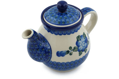 20 oz Tea Pot - Heritage | Polish Pottery House