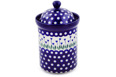 6 cup Canister - 377ZX | Polish Pottery House