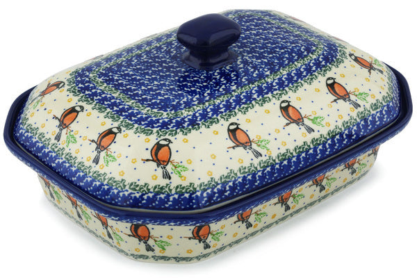 "12"" Covered Baker - 1746X 