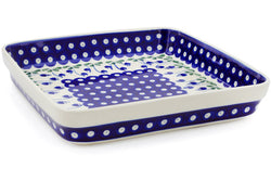 "10"" x 10"" Rectangular Baker - 377O 
