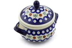 13 oz Soup Cup with Lid - Old Poland | Polish Pottery House