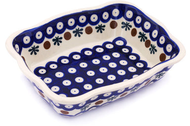 "6"" x 8"" Rectangular Baker - Old Poland 