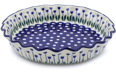 "10"" Fluted Pie Plate - 377ZX 