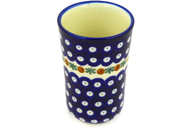 15 oz Tumbler - Blue Old Poland | Polish Pottery House