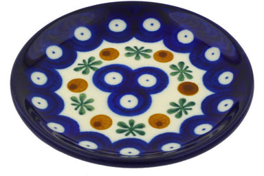 "4"" Coaster - Blue Old Poland 