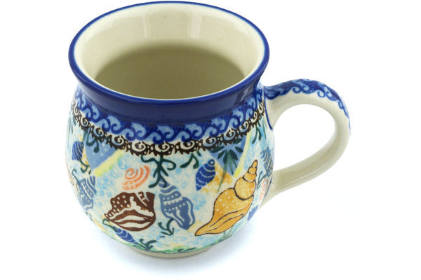 12 oz Bubble Mug - Sea Shell | Polish Pottery House
