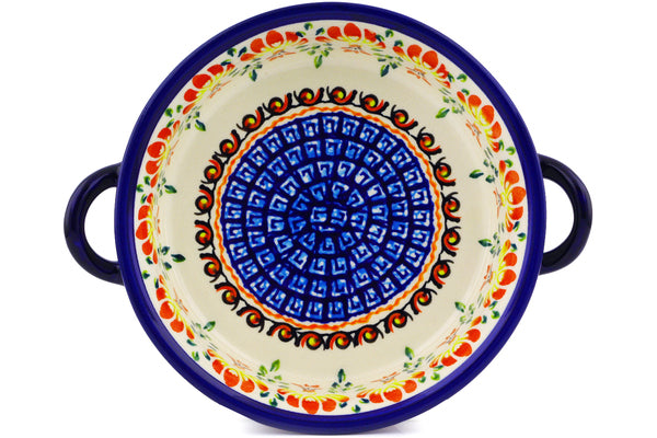 "6"" Round Baker with Handles - P9251A 