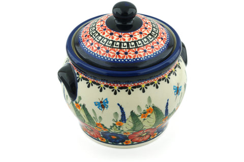 "6"" Canister - Butterfly Garden 