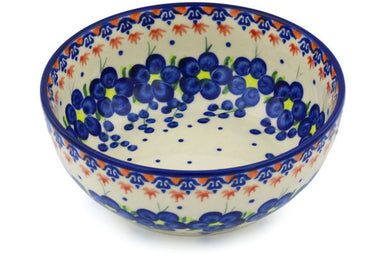 4 cup Serving Bowl - D52 | Polish Pottery House