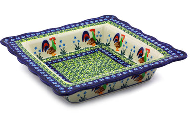 "9"" Square Bowl - Rise & Shine 