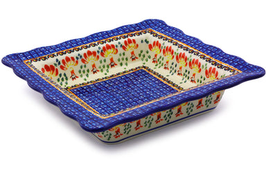 "9"" Square Bowl - P9251A 