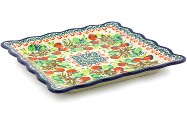 "9"" Platter - Apple Orchard 