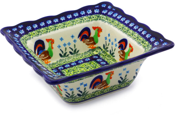 "7"" Square Bowl - Rise & Shine 