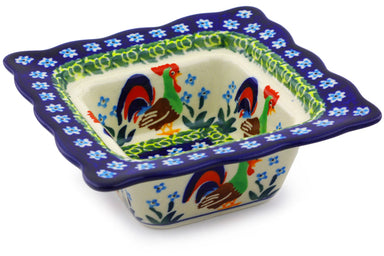 5 oz Condiment Bowl - Rise & Shine | Polish Pottery House