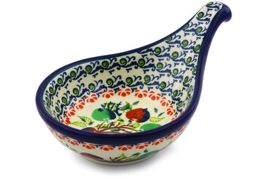"7"" Condiment Server - Apple Orchard 