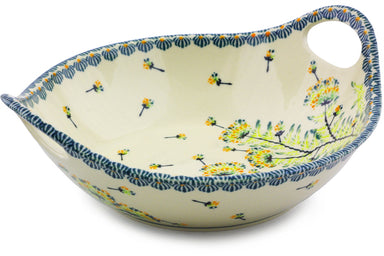 4 cup Serving Bowl with Handles - P9241A | Polish Pottery House