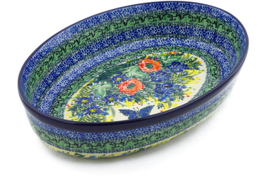 "12"" Oval Baker - U4116 