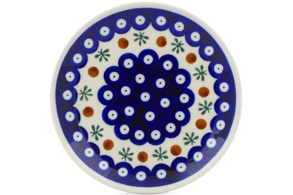 "6"" Bread Plate - Old Poland 