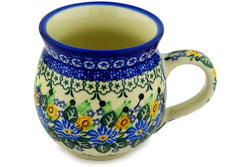 12 oz Bubble Mug - U1705 | Polish Pottery House