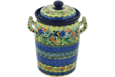 19 cup Canister - U4099 | Polish Pottery House