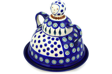"7"" Cheese Lady - Blue Peacock 
