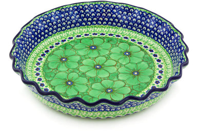"10"" Fluted Pie Plate - U408D 