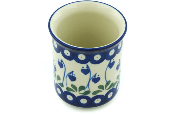 9 oz Tumbler - Blue Bell | Polish Pottery House