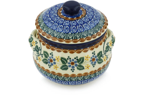 3 cup Soup Cup with Lid - U975 | Polish Pottery House