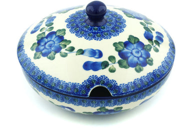 19 oz Sugar Bowl - Heritage | Polish Pottery House