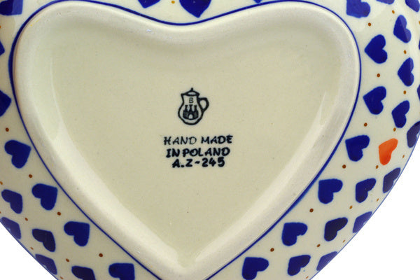 "7"" Heart Platter - 570X 