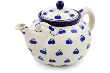 8 cup Tea Pot - 67AX | Polish Pottery House