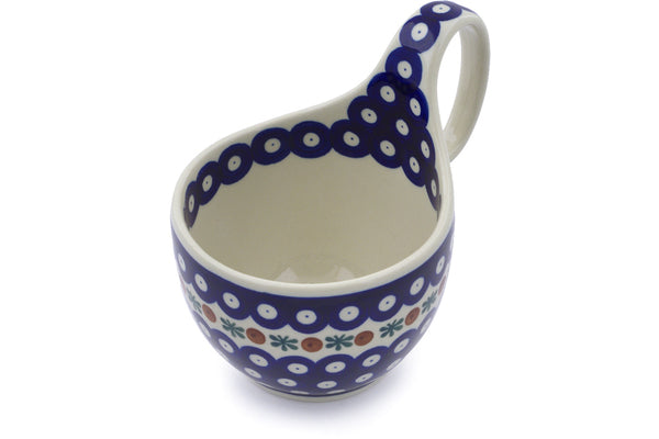 17 oz Soup Cup with Handles - Old Poland | Polish Pottery House