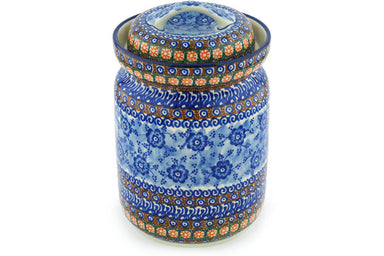 15 cup Canister - U57A | Polish Pottery House