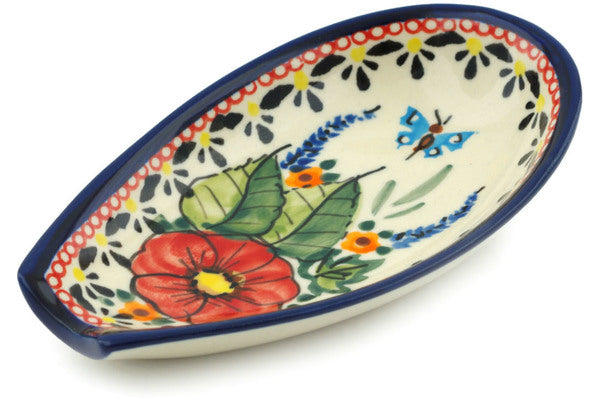 "5"" Spoon Rest - Butterfly Garden 