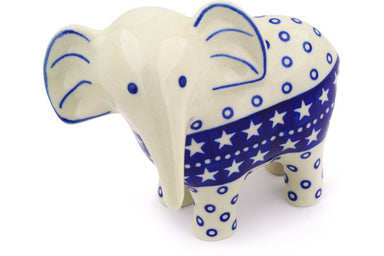 "6"" Elephant Figurine - Stars 