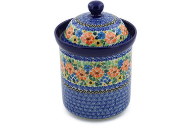 5 cup Canister - U1753 | Polish Pottery House